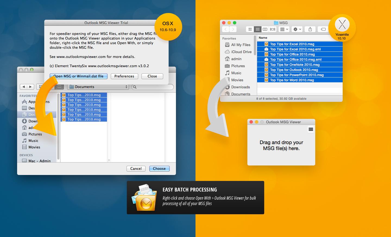 Batch file for mac os x 10.10